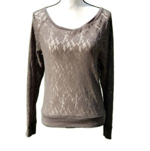 ❤ VS PINK | Lace Top, Size XS